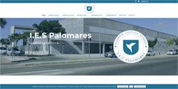 Diseño y Mantenimiento web IES Palomares