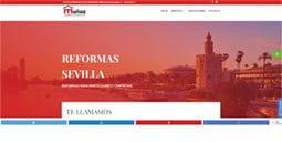 SEO y Diseño web Reformas Muñoz