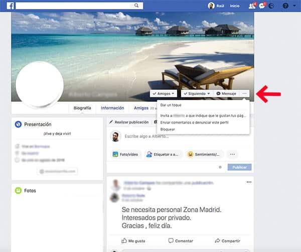 Cómo dar de baja una cuenta de Facebook
