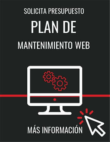 Plan mantenimiento web